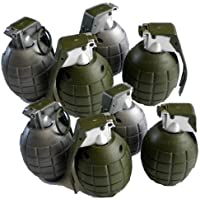 [アーミー]Army Lot of 8 Kids Toy B/o Grenades for Pretend Play 412463 [並行輸入品]