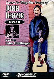 Learn to Play Songs of John Denver: Lesson 3 [DVD] [Import]