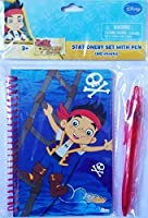 Jake and the Never Land Pirates 60-sheetノートブックStationary Set Withペンby tri-coastalデザイン