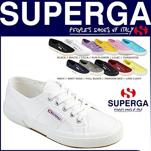 (スペルガ) SUPERGA レディース 2750 COTU CLASSIC スニーカー キャンバス メンズ クラシック コットン 11カラー EU37.5(約24.0cm) WHITE (並行輸入品)