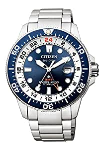 [シチズン]CITIZEN 腕時計 PROMASTER プロマスター Eco-Drive エコ・ドライブ マリンシリーズ GMTダイバー BJ7111-86L メンズ
