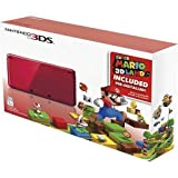 「Nintendo 3DS Holiday Bundle - Flame Red with Super Mario 3D Land Pre-Installed by Nintendo [並行輸入品]」の画像