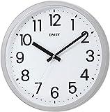 DAILY(リズム時計) 見易いスタンダードクォーツ時計 フラットフェイスDN 白文字盤 4KGA06DN19