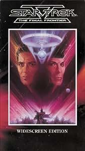 Star Trek V: The Final Frontier [VHS] [Import]