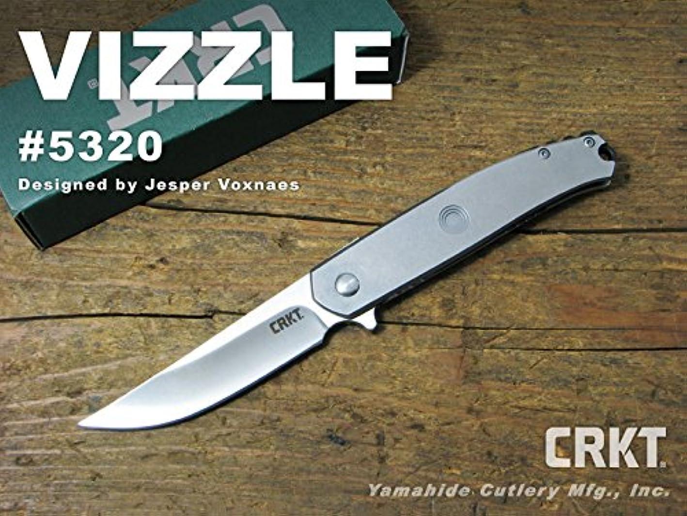 固めるつまずく市町村CRKT コロンビアリバー #5320 VIZZLE ビジル 折り畳みナイフ【日本正規品】