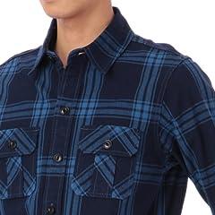 Indigo CPO Shirt 387-84018: Check
