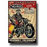 Reverend Horton HeatポスターコンサートPromo Motorcycle Psychobilly