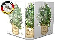 バインダー 2 Ring Binder Lever Arch Folder A4 printed herbes provence