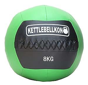 KETTLEBELLKON(ケトルベル魂)ソフトメディシンボール(クロスフィット・ウォールボール用) (8 キログラム)
