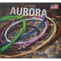 【国内正規品】 Strings by AURORA オーロラストリングス エレクトリックギター用カラー弦 AUR-EG0946/ブルー