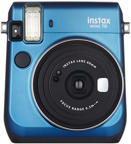 FUJIFILM インスタントカメラ チェキ instax mini70 ブルー INS MINI 70 BLUE