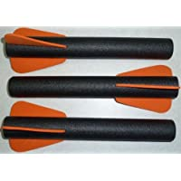Official Nerf Big Bad Bow - Arrow Refill Pack - 3 Arrows colors may vary [並行輸入品]