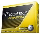 BRIDGESTONE(ブリヂストン) ゴルフボール TOURSTAGE エクストラディスタンス 1ダース( 12個入り) イエロー TEYX