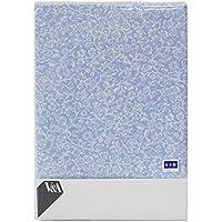 【ロマンス小杉】 V&A ボックスシーツ [Daisy] セミダブル (120×200×28cm) ブルー 1-2844-5016-5700