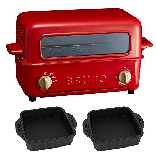 BRUNO トースターグリル オーブングリルパンS 2点セット オーブントースター トップオープン
