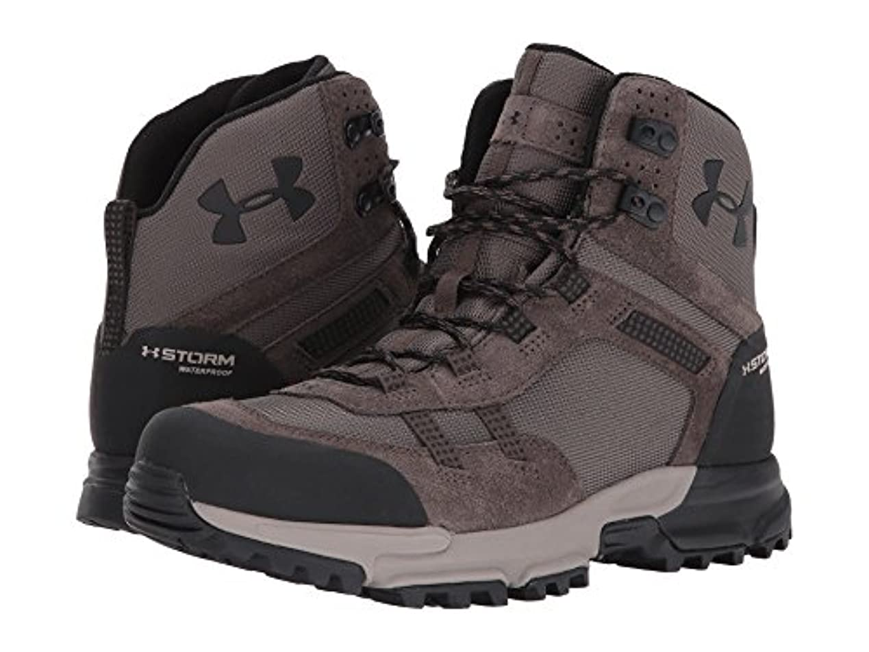 スパイ二十始まり(アンダーアーマー) UNDER ARMOUR メンズブーツ?靴 UA Post Canyon Mid Waterproof Maverick Brown/Black/Black 14 (32cm) D - Medium