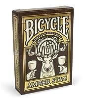 自転車新しいAmber StagデッキLimited Unique Collector 's Edition Rare