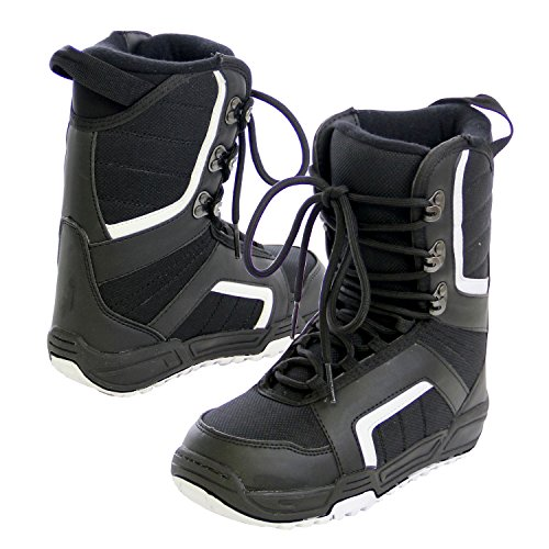 VAXPOT(バックスポット) ブーツ スノーボード用 シューレース【インナー一体型 インナーレス】 VA-3661 BLK 25.0cm