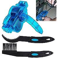 自転車 チェーンクリーナー チェーン洗浄器 チェーン掃除 チェーン洗浄器+チェーンブラシ 2点セット