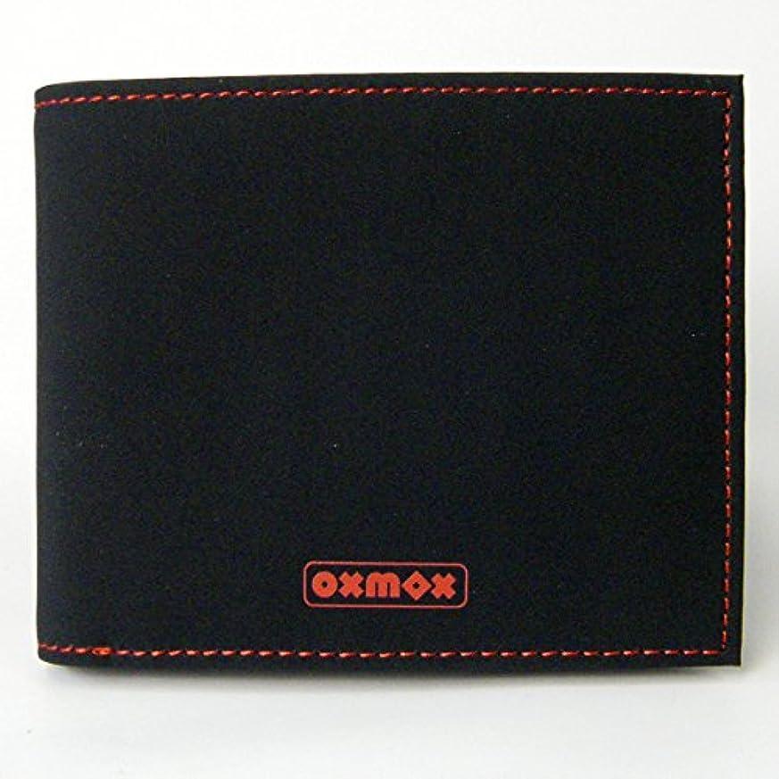 すり湿気の多い慎重OXMOX(オックスモックス) カラー COLOR 2つ折ウォレット レッド