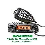 TYT TH-9000D トランシーバー アマチュア無線機 高出力 小型モービル機 VHF Transceiver 136-174/400-470MHz 60W
