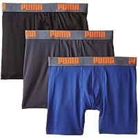 PUMA Men's 3 Pack Tech Boxer Brief