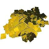 【EDEN】キラキラ ゴールド 紙吹雪 かどまる四角形 2cmサイズ63.3g(約3440枚) ショー演出 ウェディング [E336]