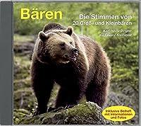 Baeren: Die Stimmen von 20 Gross- und Kleinbaeren in 99 Tonaufnahmen