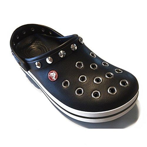 [株式会社マックストラスト] クロックス crocs パンク カスタム クロックバンド 黒 ブラック crocband (26)