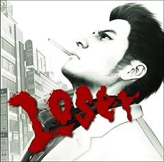 矢沢永吉「Loser」の歌詞を収録したCDジャケット画像