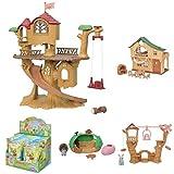 森のどきどきツリーハウス+ファミリートリップシリーズ3点+赤ちゃん探検シリーズBOXセット