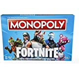 Monopoly Board Game - Fortnite by Epic Games Edition  - Tilted Towers, Storm Cards, Pay in HP - 2 to 7 players - Ages 13+