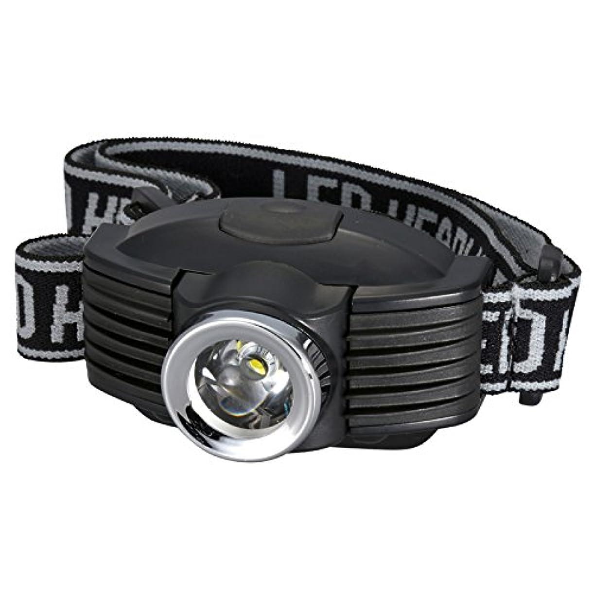 整然としたファームミルクオーム電機 OHM LEDヘッドライト205 LC-SYW431-K