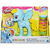 Play Doh - My Little Pony - Rainbow Dash Style Salon inc 6 Tubs & Accessories