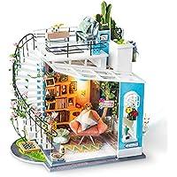 Rolife ドールハウス DIY ミニチュア Dora's LOFT/ドラのロフト スタックハウス ライト 一戸建て 木製模型 (ドラのロフト)