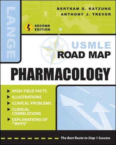 Download USMLE Road Map Pharmacology, Second Edition (LANGE USMLE Road Maps) 0071445811