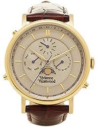 [ヴィヴィアンウエストウッド] メンズ腕時計 Vivienne Westwood VV164CHBR グレー ゴールド ダークブラウン [並行輸入品]