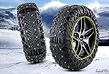 SAMYO タイヤチェーン 非金属 簡単装着 ジャッキアップ不要 スノーチェ ーン 車 雪道 プラスチック アイスバーン 凍結 スリップ 事故 悪路 防止SR-QE15適応タイヤー:265/70r16 265/70r16 275/65r17 245/70r17 265/60r18 265/50r20 215/85r16