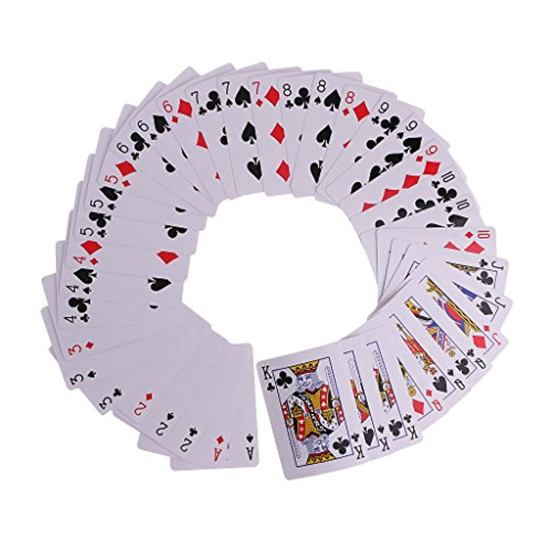 Sharplace ポーカーカード 魔法小道具 滝のカード ファンシーシャッフル 手品トランプ 面白い