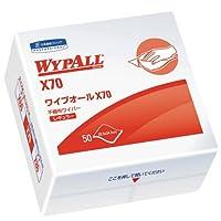 クレシア ワイプオール X70 4つ折り 50枚 18入り 製品番号 :60570