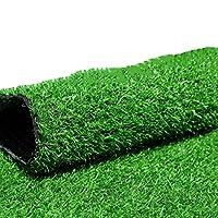 快適な人工芝生20mmパイルハイグリーングラスカーペットナチュラルリアリスティックガーデンバルコニーウェディング会場レイアウト(サイズ:2x6m),2x6m