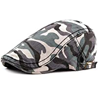 2020 Womens Hats Caps 2019 Beret Cap Camouflage Hat Outdoor Travel Duck Tongue Beret Hat Fashion Casual Soft Decoration Lighting New Adjustable Cotton Newsboy Retro Hat