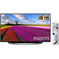シャープ 40V型 4K対応液晶テレビ AQUOS LC-40U45 (クリーニングブラシ付)