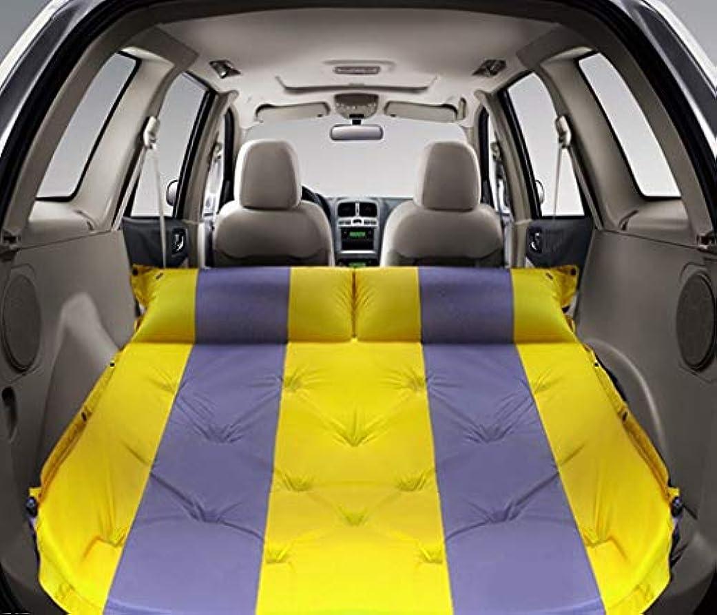 アウターメロドラマティックに向けて出発SUV車の膨脹可能なベッド、屋外の多機能の自動膨脹可能なパッドのトランクの膨脹可能なベッド車の衝撃のベッド192 * 132 cmはステッチすることができます