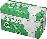 アイリスオーヤマ マスク 衛生マスク 耳掛け 100枚入り EMN-100PEL
