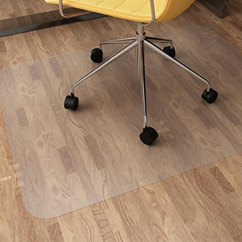 SLYPNOS チェアマット フロアマット 床を保護 デスク マット カート可能 フローリング/畳/床暖房対応 90 * 120cm 厚み1.5mm