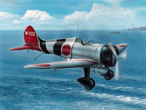 1/32 九六式艦上戦闘機 三菱A5M2b ハイテック