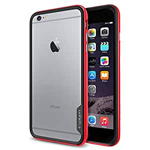 【Spigen】iPhone 6 Plus ケース, [ スリム バンパー ] ネオ・ハイブリッド EX Apple iPhone (5.5) アイフォン 6 プラス カバー (国内正規品) (ダンテ・レッド 【SGP11259】)