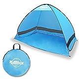 [リベルタ]LIBERTA サンシェードテント ワンタッチテント サンシェルター 2~3人用 3カラー UV 海水浴 キャンプ アウトドア 収納袋