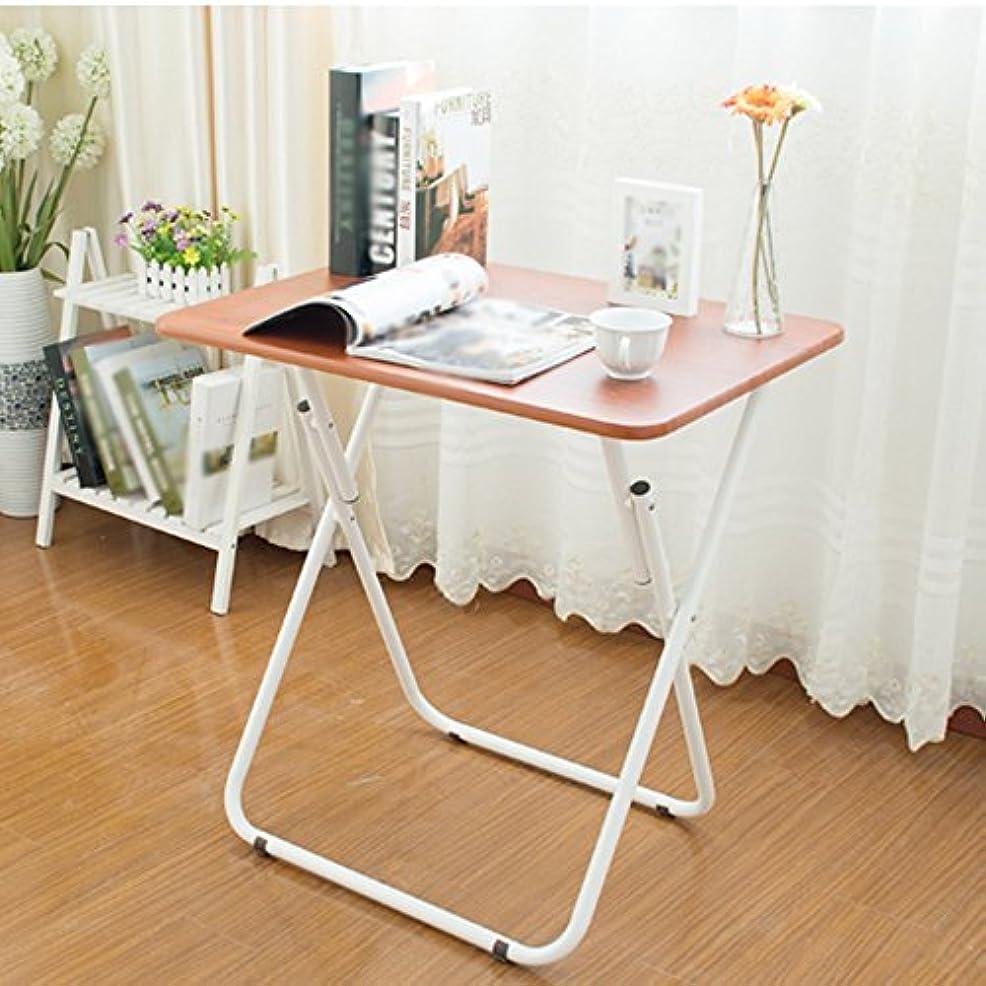 いじめっ子超越するユーモラス調節可能な 折りたたみテーブル小さなアパートテーブルの無料インストール2色利用可能510 * 700ミリメートル 回転することができます (色 : B)